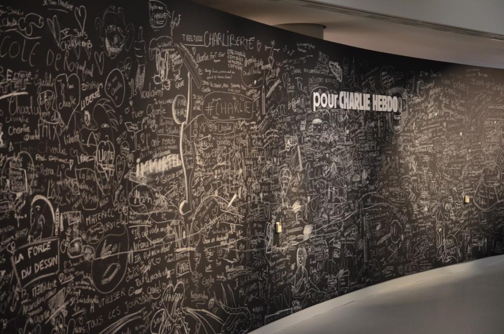 Les messages de soutiens des visiteurs au musée de la BD (Florian Maussion / 3millions7.com)