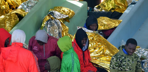 ITALY-LIBYA-IMMIGRATION-RESCUE