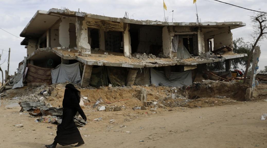 PALESTINIAN-ISRAEL-CONFLICT-GAZA-UN-RECONSTRUCTION-AID