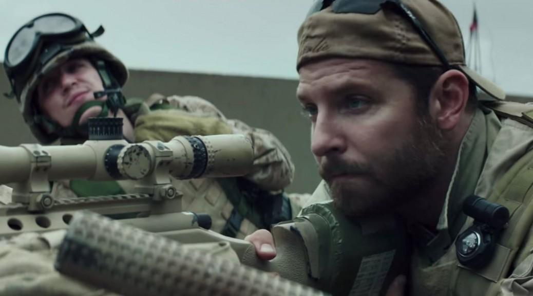 Capture d'écran du trailer d'American sniper