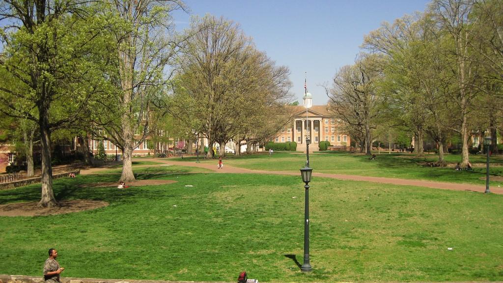 L'université de Caroline du Nord a Chapel Hill