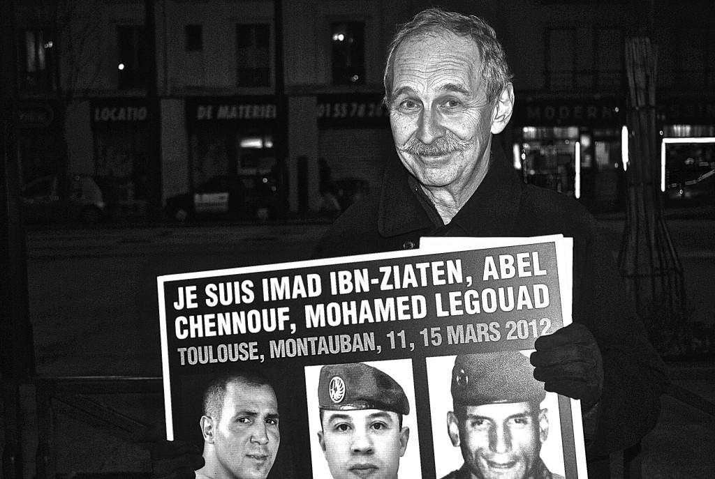 Alexandre Feigenbaum, le jour de la marche du 12 février en mémoire à Ilan Halami - 3millions7