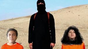 Ce photo-montage circule sur les réseaux sociaux. Il représente Zineb El-Rhazoui et Jaouad Benaissi, menacés de mort par des proches du groupe Etat islamique.