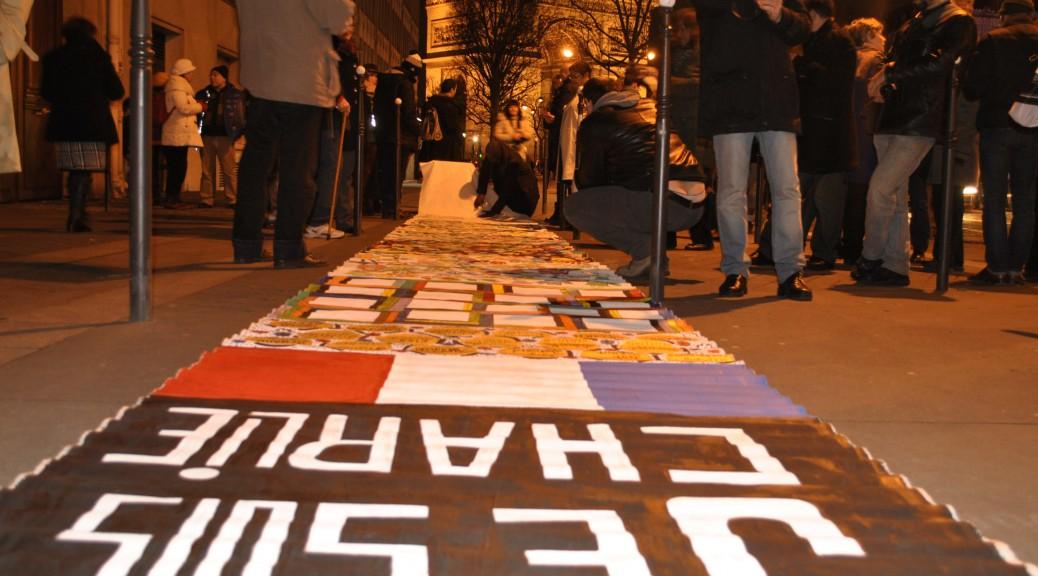 Rassemblement dimanche 15 février devant l'ambassade du Danemark à Paris.