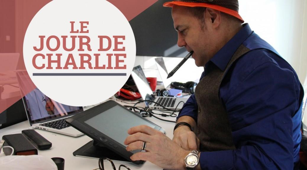 Le dessinateur Hervé Baudry a rendu visite à la rédaction de 3millions7.