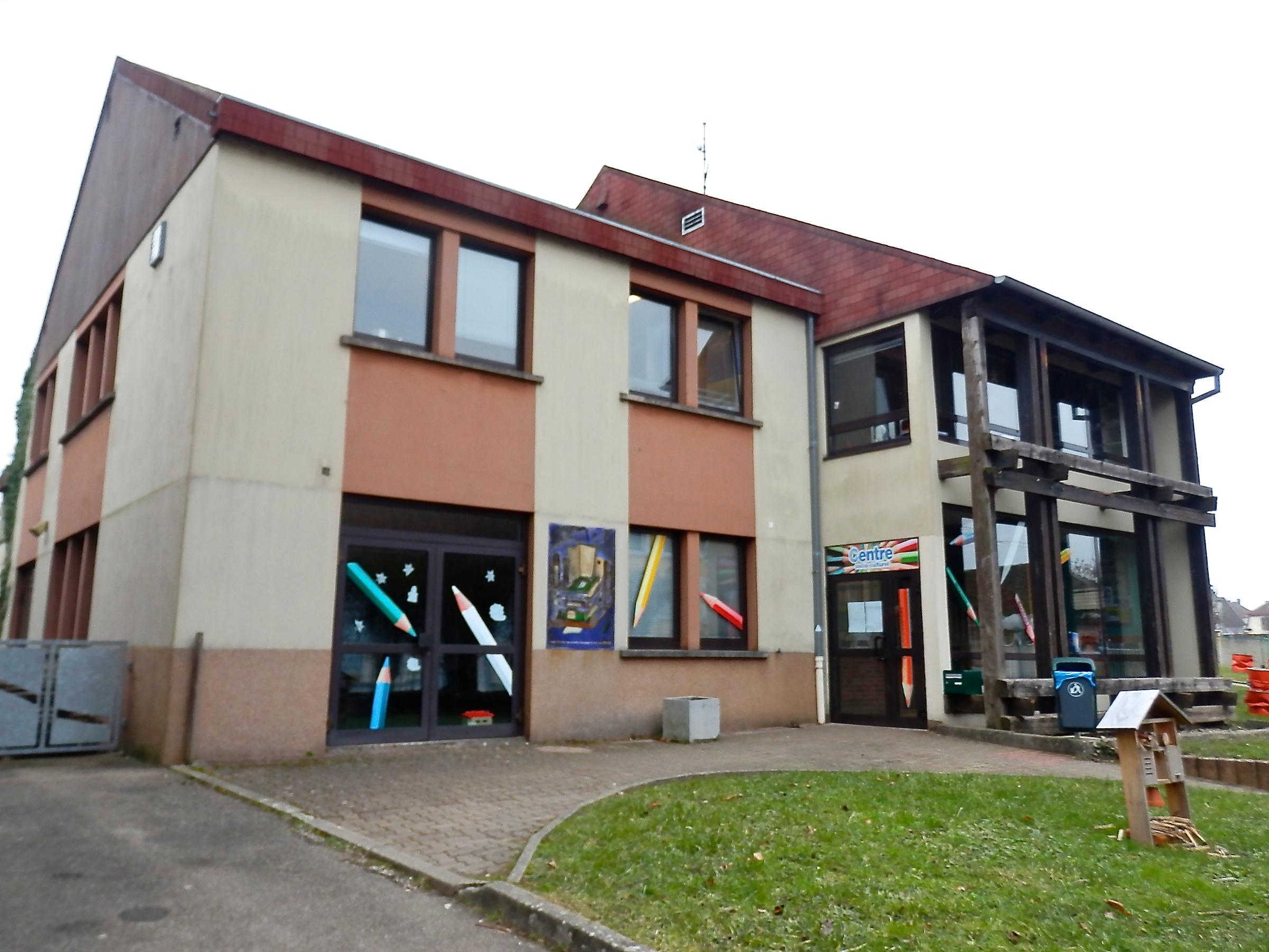 Le centre socio-culturel de Sarre-Union, à deux pas du lycée Georges Imbert.