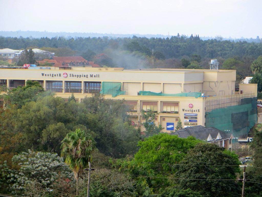 Westgate, visé par l'organisation islamiste des shebab en septembre 2013.