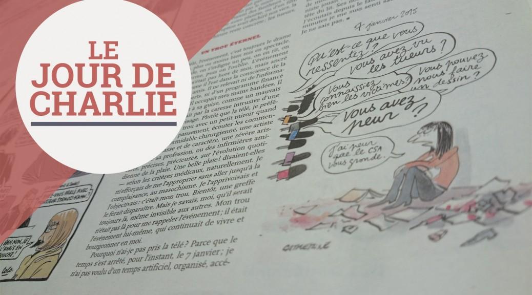 Dessin de Catherine en page 11 du nouveau numéro de Charlie Hebdo. (Matthieu Jublin)