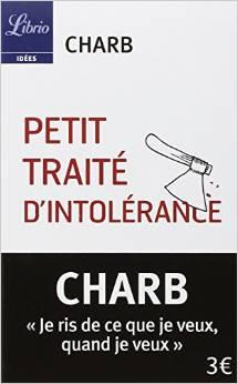 charb petit traité d'intolérance