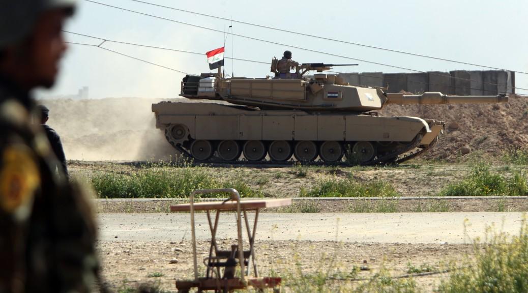 Un char de l'armée irakienne - Ahmad al-Rubaye / AFP