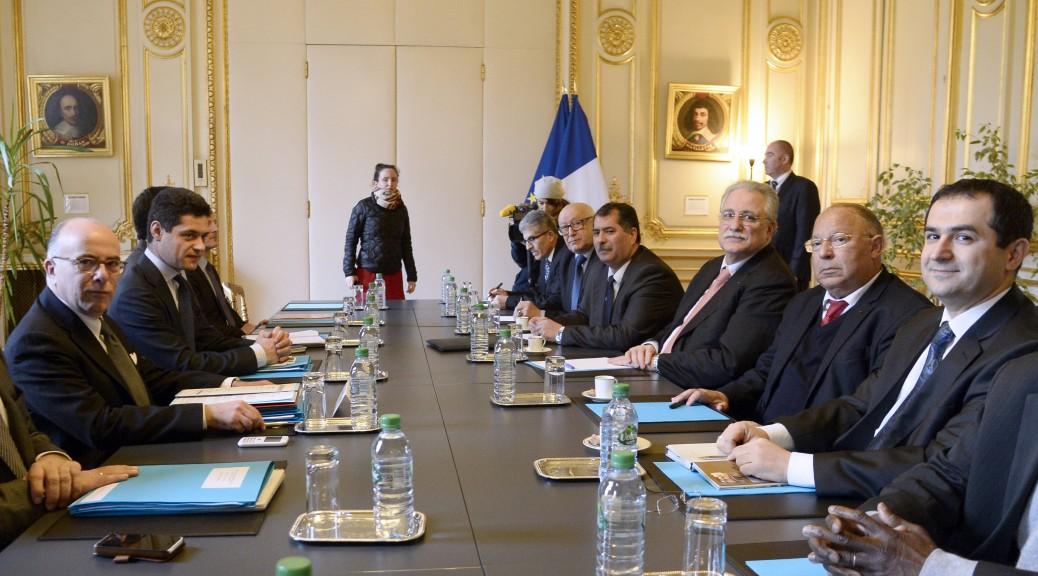 Bernard Cazeneuve a reçu les représentants du CFCM et des autres instances musulmanes de France.