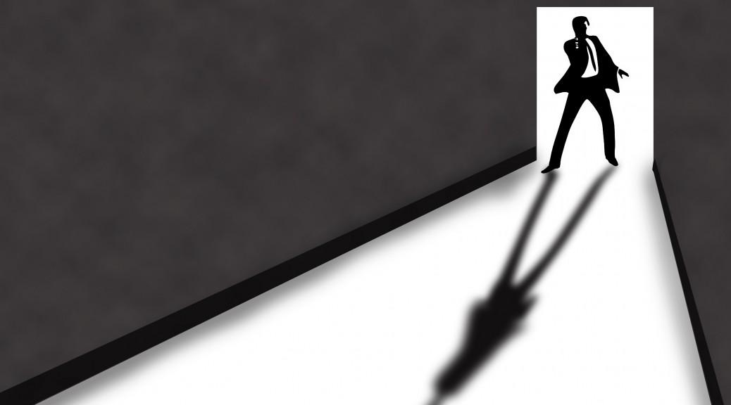 Ombre inspirée du générique des films James Bond. (Crédit : ClaraDon / Flickr CC)