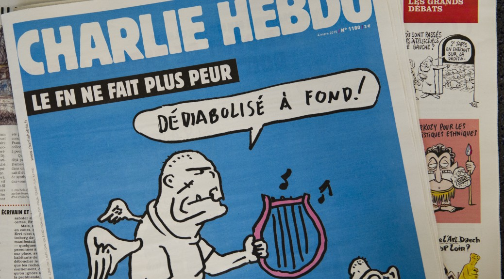 Photo 3e Charlie Hebdo