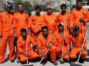L'ancien uniforme des agents municipaux d'Amman (NTN News)