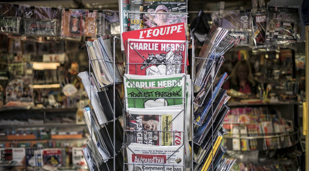FRANCE-ATTACKS-MEDIA-CHARLIEHEBDO