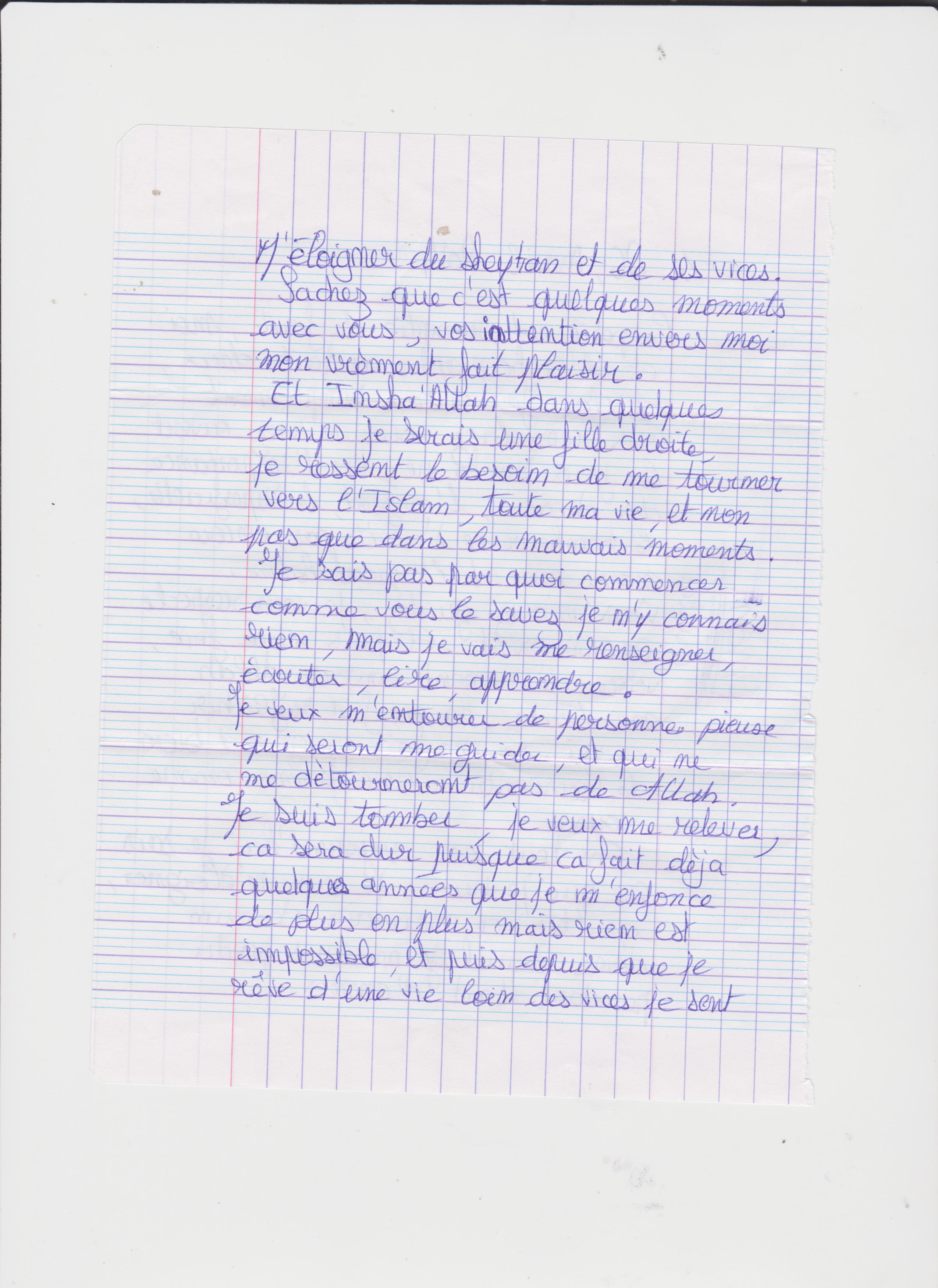 exemple de lettre pour un detenu Ils portent la parole de l'islam dans les prisons | 3millions7 exemple de lettre pour un detenu