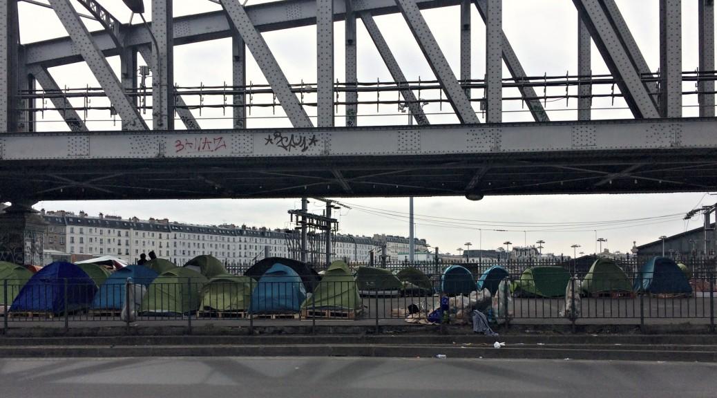 Migrants de la gare du Nord