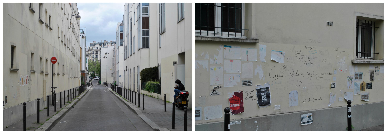 Dans la rue de Charlie Hebdo, les touristes se font moins nombreux