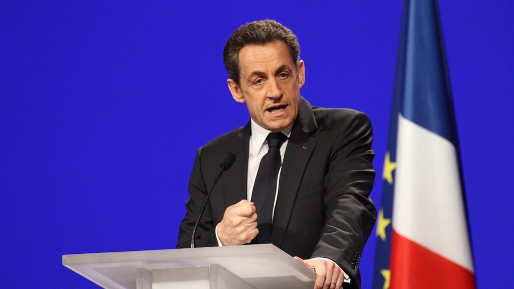 Nicolas Sarkozy à Marseille, en 2012. (UMP)