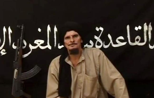 Gilles Le Guen dans une des vidéos de propagande d'AQMI